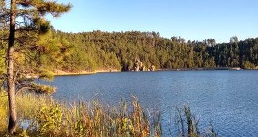Center Lake - Custer State Park
