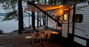 Kerr Lake State Recreation Area Kimball Point