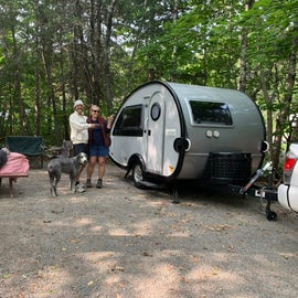 Our friends' camper - The Little Guy