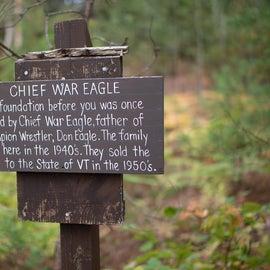 Shore Trail signage