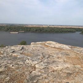 Lovers leap over Mississippi river