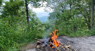 Linville Gorge Wilderness Dispersed Camping--Western Section, NC 128 he