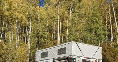 Uncompahgre National Forest Matterhorn Campground