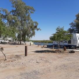 Water front campsites