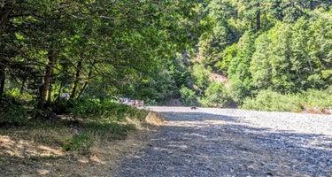 """Elk River """"Stony Beach"""" Dispersed Camping"""
