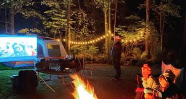 Calef Lake Camping Area