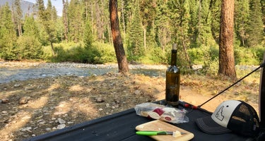 Boise National Forest Grandjean Campground