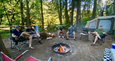Willamette National Forest Black Canyon Campground