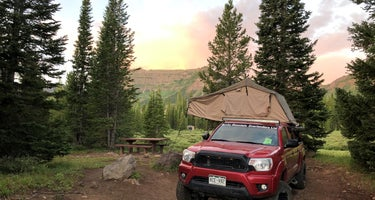 Trappers Lake Cutthroat Campground