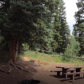 Site #2 East Marvine Campground