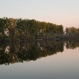Lake shot.