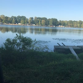 Privately owned Lake to enjoy swimming, fishing, strolling in a canoe, kayak even a small pontoon!