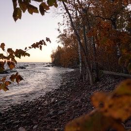 Access to Lake Superior near LS-14