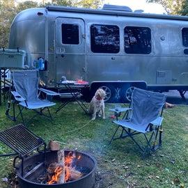 plenty of room between campsites