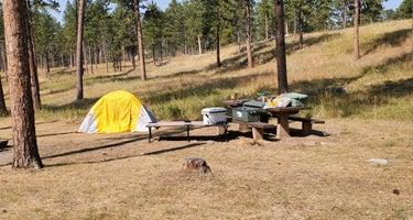 Black Hills National Forest Comanche Park Campground