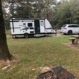 Nice picnic area. 2018 Jeep GC Ecodiesel