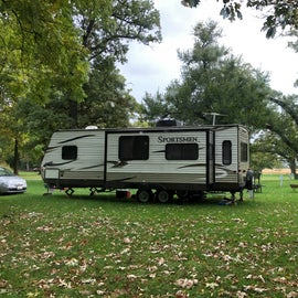 Other campers were in larger rigs