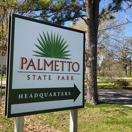 Signage at Park headquarters