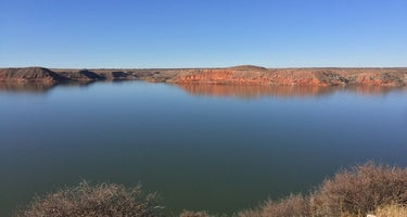 Fritch Fortress Campground - Lake Meredith National Recreation Area
