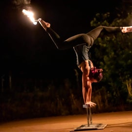 One of the talented fire performers again!!!