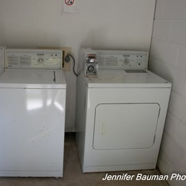 Washer/Dryer available.