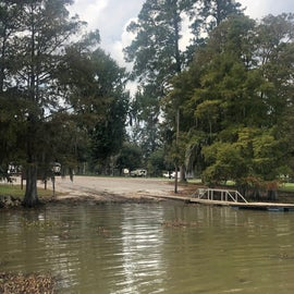 One of the boat ramps