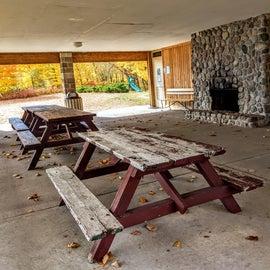 Picnic shelter.