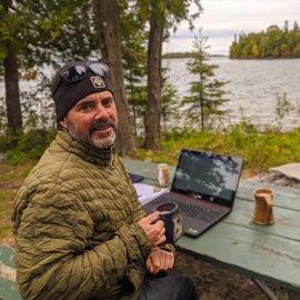 The digital nomad life.