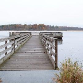 Pier near the park entrance. 1/2