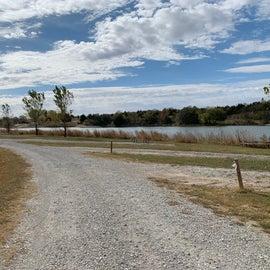 $5 non-electric sites next to lake