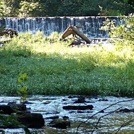 Waterfall near Trade Days Field