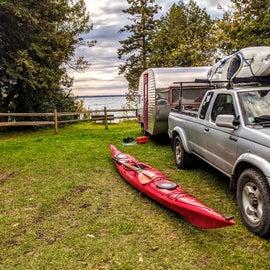 Huge campsite!