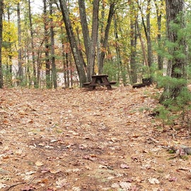 Site 4 entrance Rocky Woods