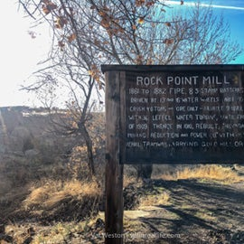Rock Point Mill history