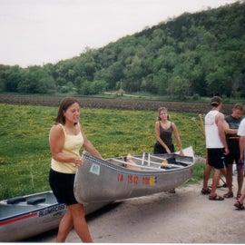 Church canoe trip