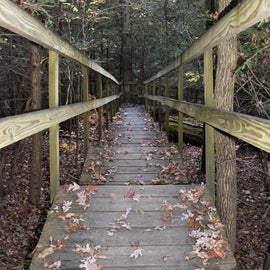 Stairs leading to Raven's Rock