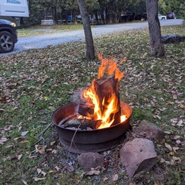 My wife's fire