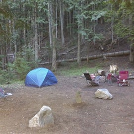 First visit to campground!