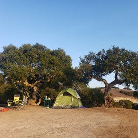 Loop campsite