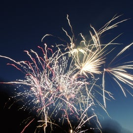 Fire works every 4th of July!