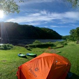 Tent site CR001