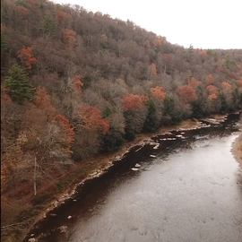 Drone shot from RV site 40