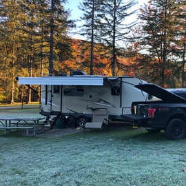 Frosty Morning at Site 28