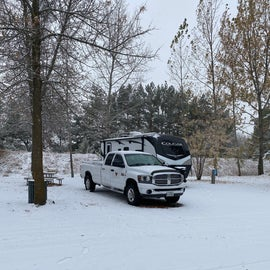Early snow in October