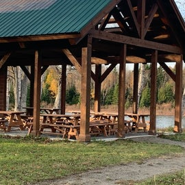 riverside covered group picnic area