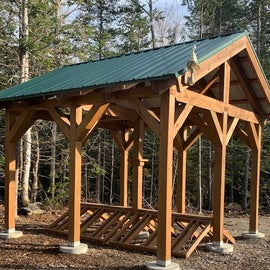 bike stalls - amazing off road trails and logging roads to mtn. bike on - or fat tire winter rides!