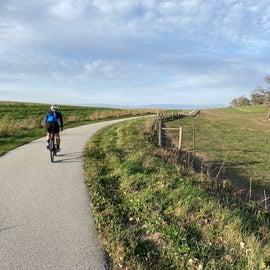 Biking the Trout Run Trail
