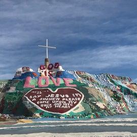 Salvation Mountain definitely go visit