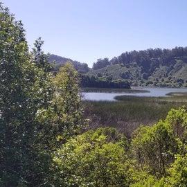 Hike around the lake