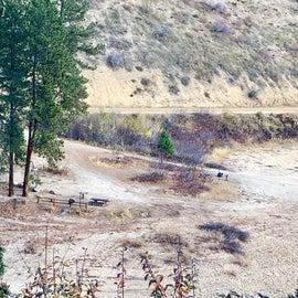 Castle Creek Low Water